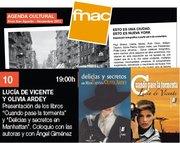 Presentación en Valencia DELICIAS Y SECRETOS EN MANHATTAN y CUANDO PASE LA TORMENTA