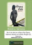"Presentacion de la Novela""La Sombra de una Vida"" de Adelina GN"