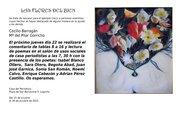Las Flores del Bien, exposición colectiva de Cecilio Barragán y Pilar Gorricho