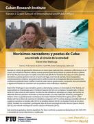 Charla literaria sobre poetas y narradores cubanos contemporáneos, impartida por la escritora Elaine Vilar Madruga
