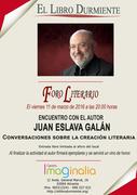 """""""Encuentro con Autor"""" el escritor Juan Eslava Galán"""