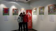 Presentación exposición Flores del Bien de Cecilio Barragán y Pilar Gorricho