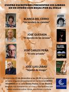 Presentación de escritores en Madrid