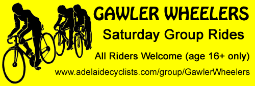 Gawler Wheelers AC Advert