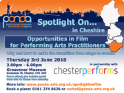 Spotlight On Opportunities in Film for Performing Arts Practitioners