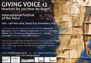 GIVING VOICE 12 - International Festival of the Voice