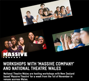 Massive Theatre Company & their visit to Wales