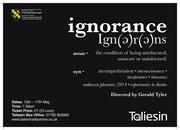 Unknown Pleasures: Ignorance