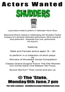 Shudders Community Theatre meeting, Blackwood