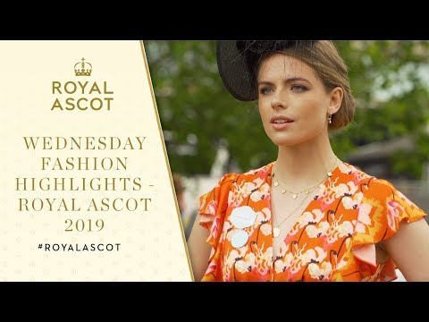 Wednesday Fashion Highlights | Royal Ascot 2019