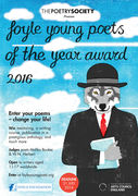 The Foyle Young Poets of the Year Award 2016 deadline