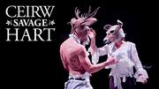"""Ceirw-Savage Hart"" by Citrus Arts"