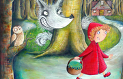 Little Red Riding Hood / Yr Hugan Fach Goch