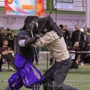 Smallsword mid-bout So-Cal