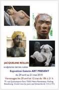 vernissage exposition sculpture Jacqueline ROLLIN