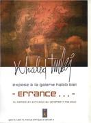 """Exposition """"Errance..."""" 2009_2010"""