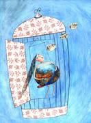 Exposition d'illustrations originales de Montse Gisbert à la librairie ABA