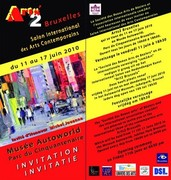 ARTEMISIA vous attend à ARTS2 BRUXELLES, Musée Autoworld, Parc du Cinquantenaire  .
