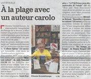 """Micheline Boland (Chloe des Lys) dans """"La Gazette de Charleroi"""""""