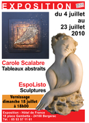 FRANCE - EXPOSITION CAROLE SCALABRE&ESPOLISTO