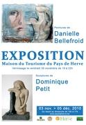 Exposition de peintures et sculptures à Herve