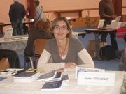 Sophie Vuillemin (CDL) au premier salon du livre de Corsept.