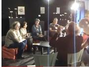 Souvenirs ! Via la chaîne YouTube de CDL, Le salon du livre de Mons. Avril 2010 déjà