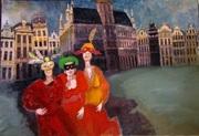 A l'Espace Art Gallery de Bruxelles: le peintre Yonnal Lannoy et vice versa du 8 au 26 décembre.