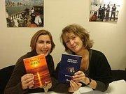 Josy Malet Praud et Sophie Vuillemin (ou le contraire) au 8° salon des écrivains bretons à Paris