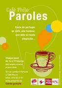 """Café Philo PAROLES : thème du mois : """"Philo vs Psycho, en toute sympathie ?"""""""