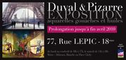 Exposition des aquarelles de Thierry Duval