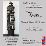 Exposition Nicole Spiers - La Galerie du Château