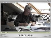 François Schuiten, dessinateur de bédé et scénagraphe, invité du mois d' ACTU-tv