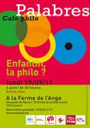 Café philo Palabres de Incourt : Enfantin, la philo ?
