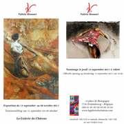 Valérie Honnart - La Galerie du Château - Estaimbourg