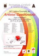 24 ème Salon d'Ensemble des artistes gembloutois.