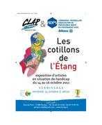 """Exposition """" Les Cotillons de l'Etang """" Galerie du CLAP à Paraza (11)"""
