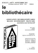 """""""Le Bibliothécaire"""" de Juillet-août-septebmre 2011 est sorti !"""