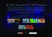 """Salon International de l'Art Contemporain """"Echo de l'Universel"""" - Espace Saint Martin - Paris"""