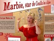 Marbie, star de Couillu les 2 Eglises dans l' ACTU-tv du 26 février