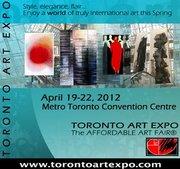 Jacqueline Morandini expose à TORONTO ART EXPO