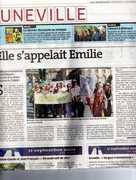 Vive Emilie du Châtelet à Lunéville!