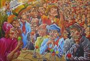 Exposition du peintre Charles De Wit < DU MASQUE AUX FAUX-SEMBLANT >