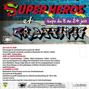 """Super héros et graffitis"""
