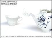 """Vaisselle de """"F""""able par la céramiste Rebecca Maeder"""