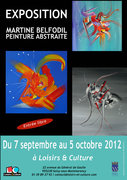 Exposition Martine BELFODIL Peintre à Soisy sous Montmorency (95230)