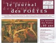 """Patrick Beaucamp dans """"Le journal des poètes"""""""