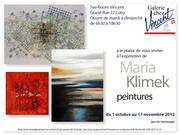 exposition de Maria Klimek