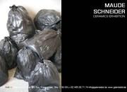 Installation céramique contemporaine par Maude Schneider