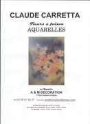 Exposition d'aquarelles de Claude Carretta
